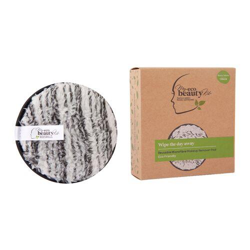 My Eco Beauty Kit Re-useable Makeup Remover Pad- Black & White Microfibre 1pk